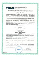 es certifikat construline 2012