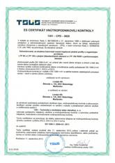 es certifikat ltp85 ltp150 2012
